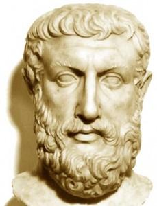 A philosopher - Parmenides