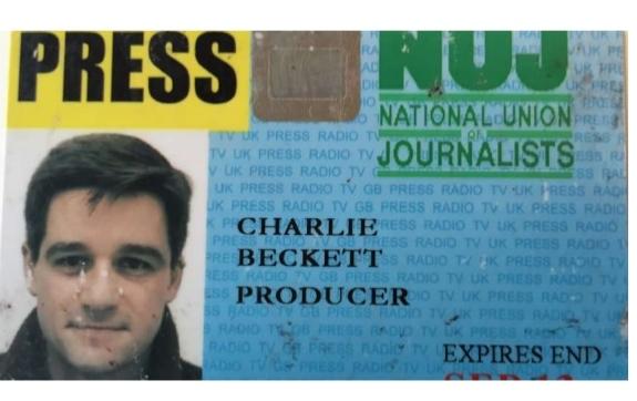 CB press card
