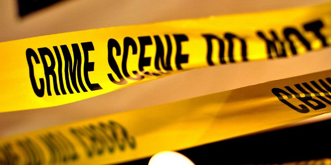 Crime scene featured