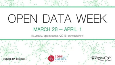 Open Data Week logo