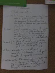Description Châtaigner