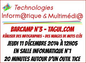 Barcamp n°3 - Tagul.com