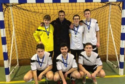 équipe junior de Futsal
