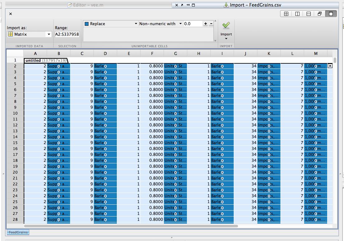 The New Spreadsheet Import Tool Matlab Community