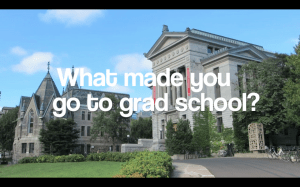 What made you go to grad school