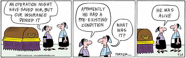 Image result for pre existing conditions