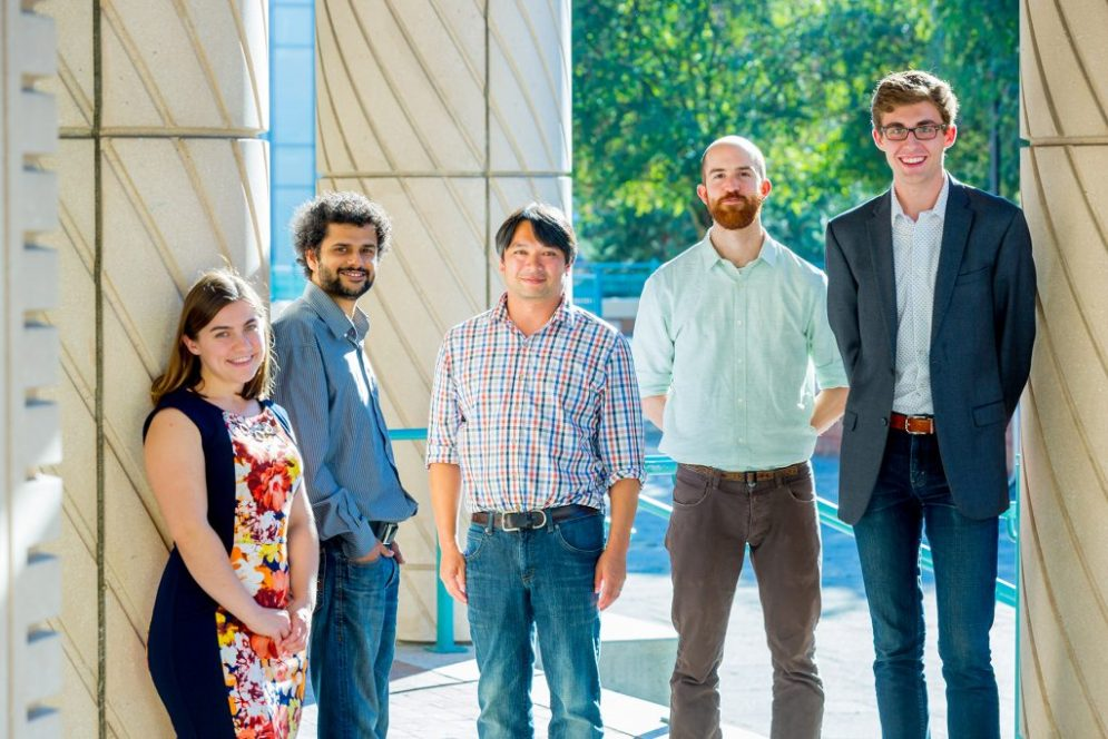 Five University of Washington students from a Data for Social Good team