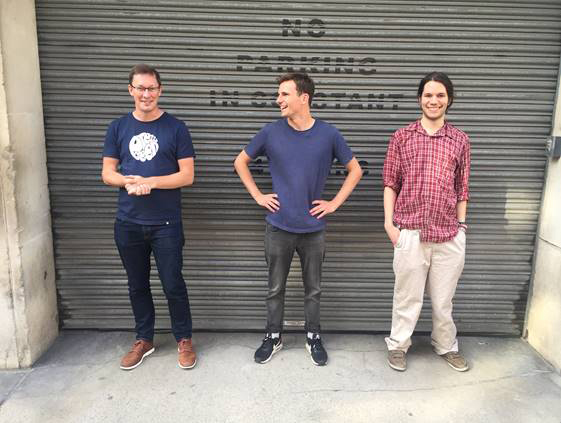 www.office.com/setup - From left, CTO James Arthur, CEO and cofounder Harry Keen and Dr. Fintan Nagle of Hazy