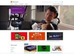 2014 Microsoft.com home page