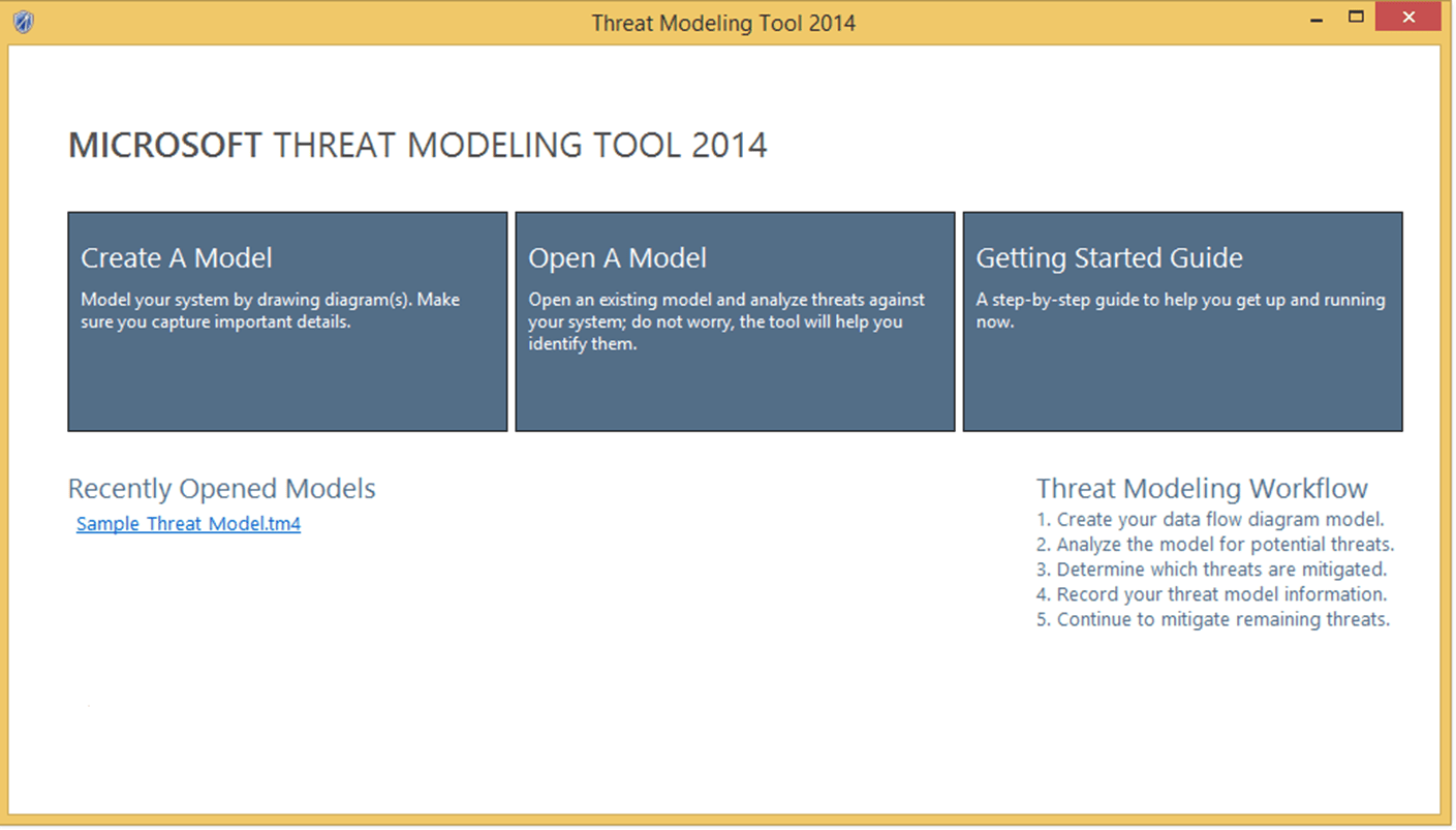 Introducing Microsoft Threat Modeling Tool 2014 – Sample Threat Assessment