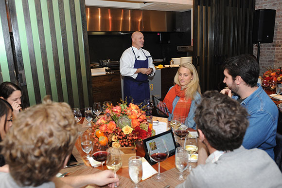 Tom Colicchio explained how the Bing Food & Drink app gives people a way to search through hundreds of recipes — even by ingredients to create seasonally inspired menus — create a meal plan and shopping lists at the click of a button, and even navigate through a recipe hands-free so your screen stays clean when your hands are messy.