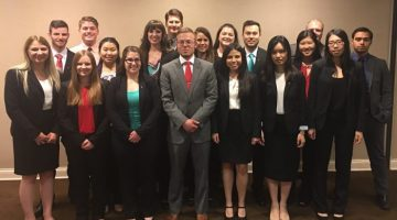 Beta Alpha Psi students have success at regional competition