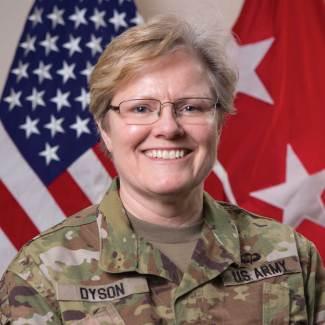 Lieutenant General Karen Dyson