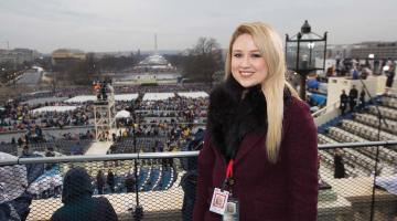 Recent alumna now works on Capitol Hill