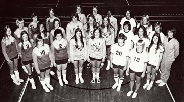 Volleyball alum Cecile Reynaud honored by MSU