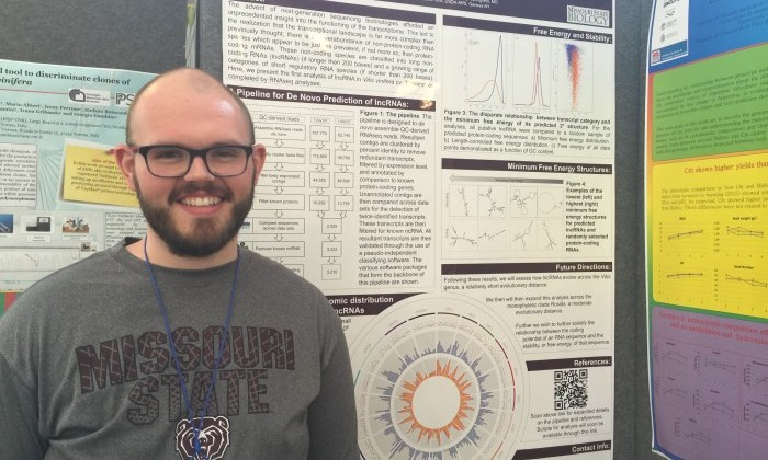 Biology graduate student's research wins first place in Italy!