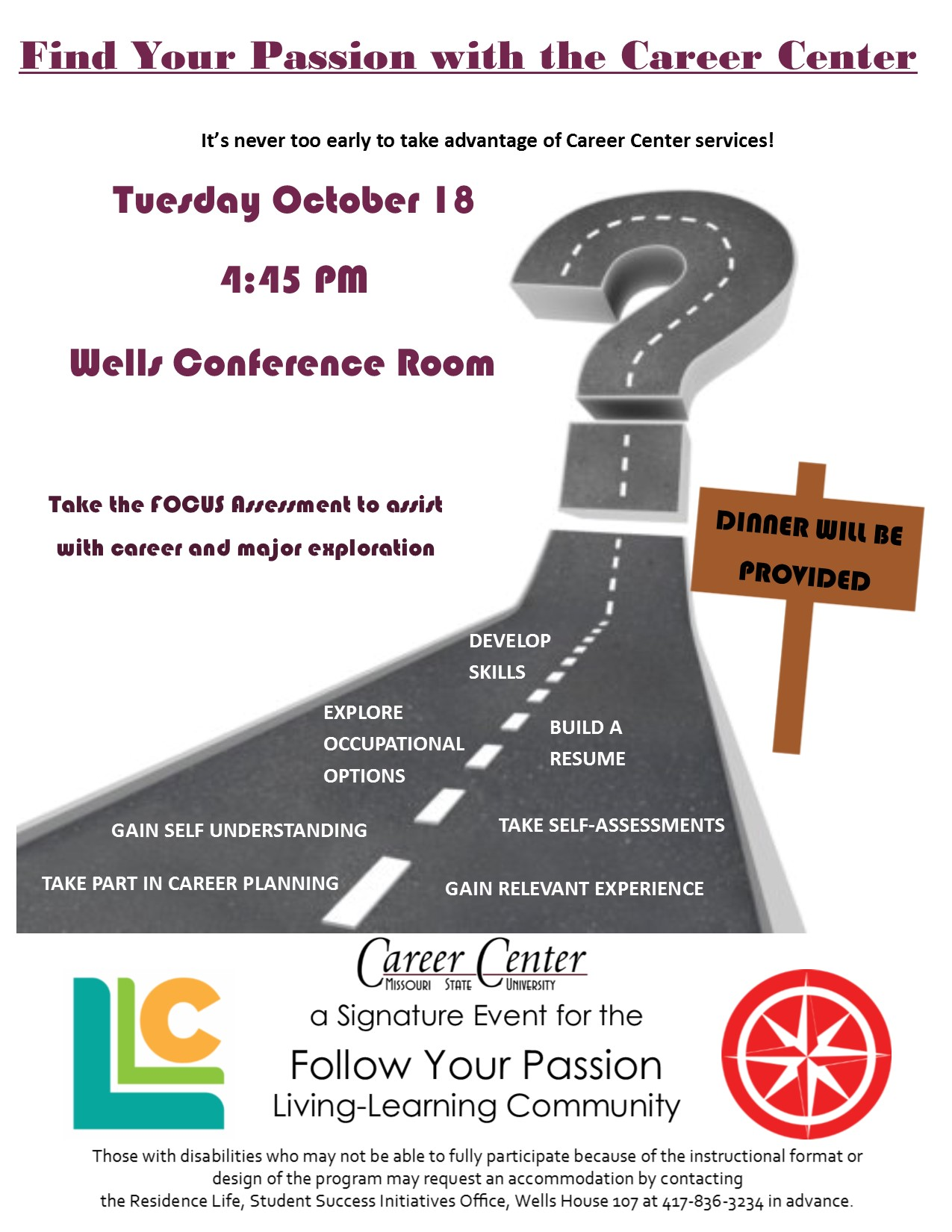 Find Your Passion With The Career Center