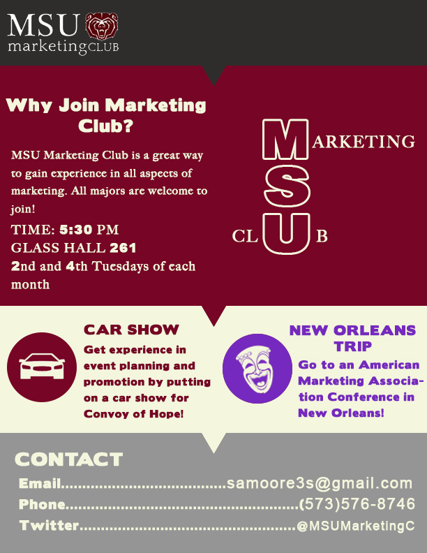 Join the MSU Marketing Club