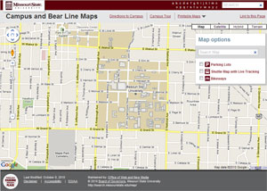 New Version Of Campus Map Launched  Web And New Media