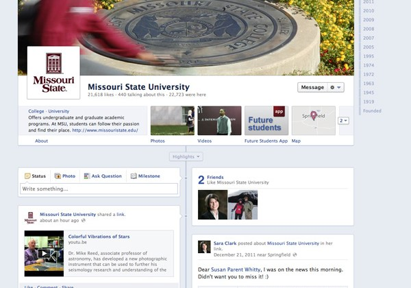 Changes to Facebook Pages