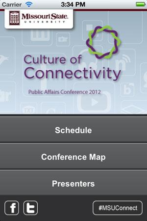 Public Affairs Conference mobile app