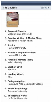 iTunes U Top Courses