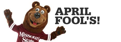 April Fool's!