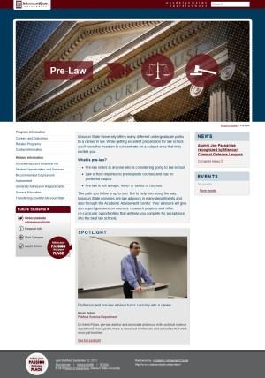Pre-Law website
