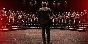 Chorale singing Twitter image