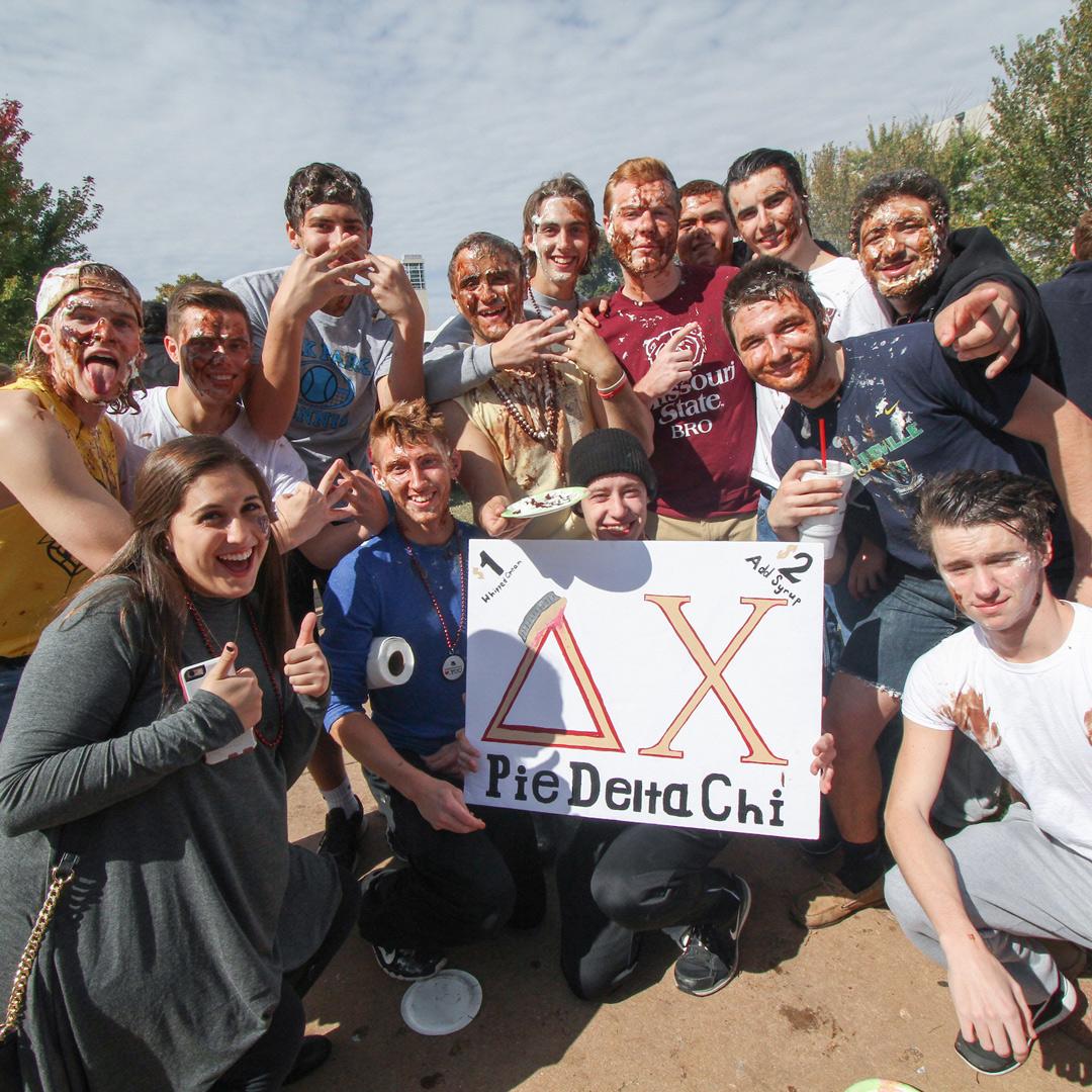 students in bearfest village