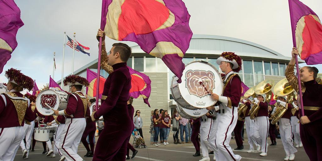 Band during parade