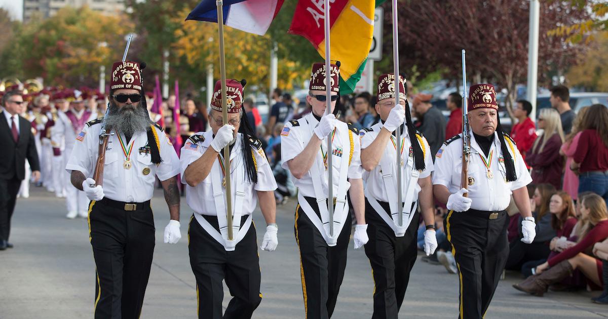 Community parade members