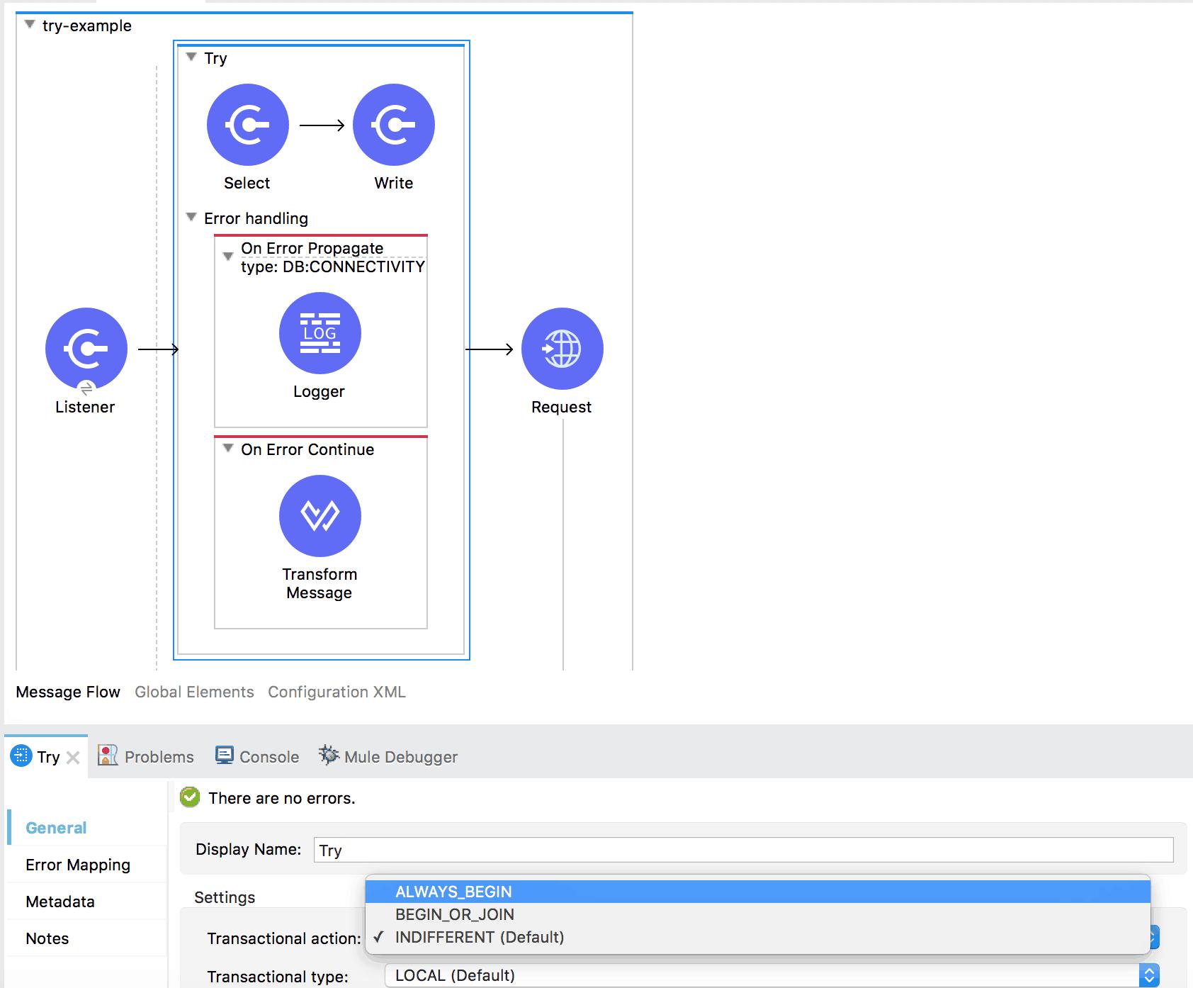 A Look Into Error Handling In Mule 4 Beta