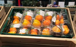 Verpacktes Obst und Gemüse: Foto: NABU/K. Istel