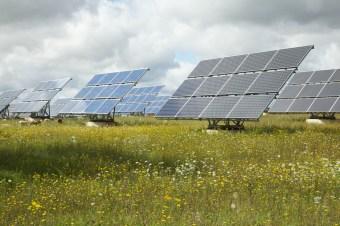 Solargenergie - NABU/Christoph Kasulke