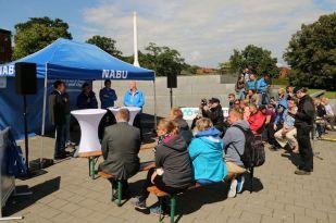 Podiukmsdiskussion in Kiel - Foto: NABU/Volker Gehrmann