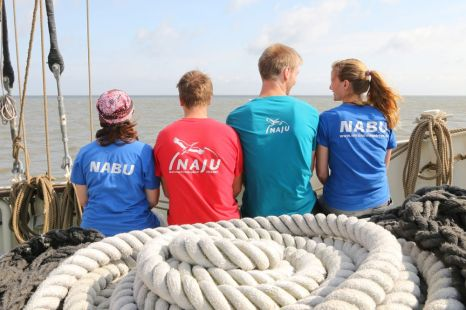 NABU und NAJU gemeinsam auf der Ryvar - Foto: NABU/Volker Gehrmann