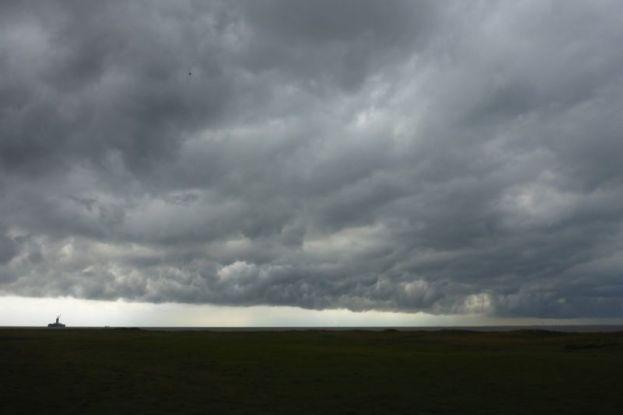 Gewitterwolke (Foto: Tore J. Mayland-Quellhorst).