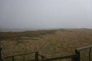 Nebel über Südost-Bucht (Foto: Tore J. Mayland-Quellhorst).