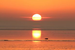 Sonnenaufgang (Foto: Jonas Kotlarz)