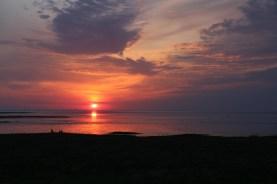 Sonnenaufgang auf Trischen (Foto: Jonas Kotlarz)