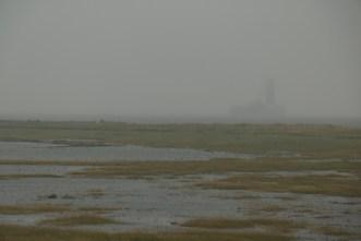 Hochwasser auf Trischen (Foto: Jonas Kotlarz)