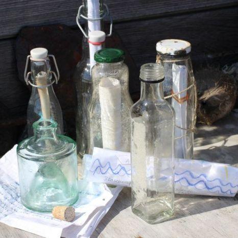 gesammelte Flaschen