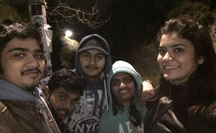 Nidhi and friends