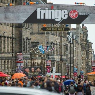 Edinburgh Festival street performers
