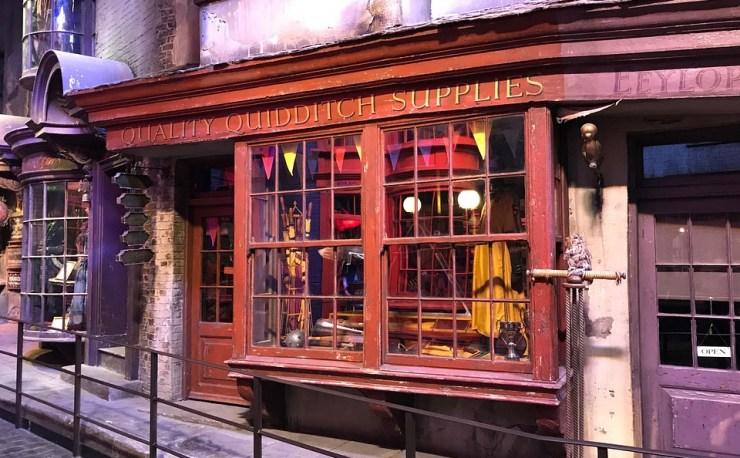 Quidditch store supplies