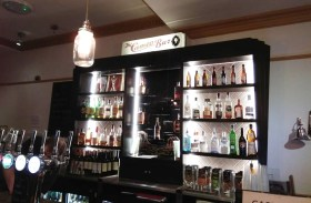Choose from a range of drinks