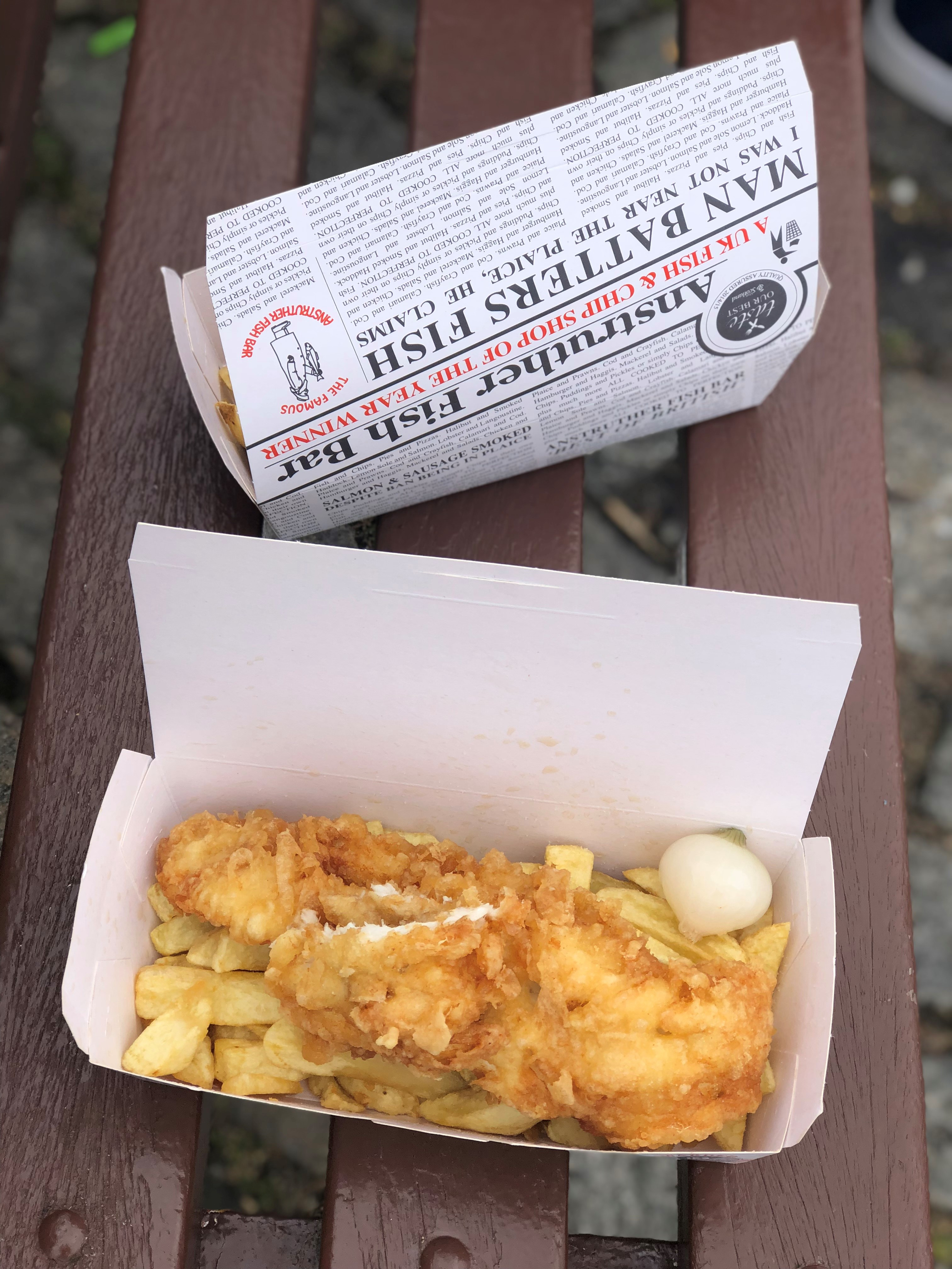 Anstruther fish and chips
