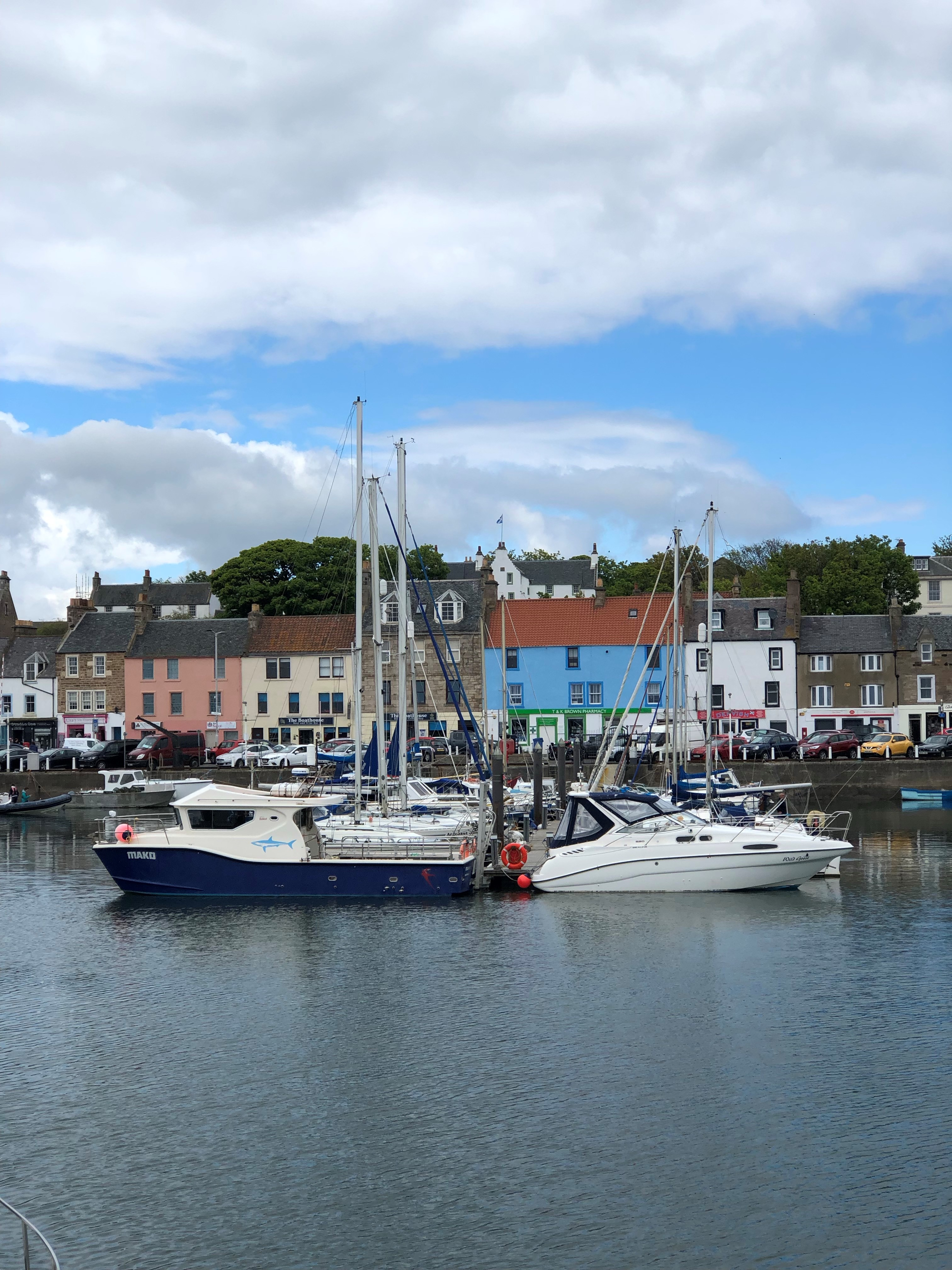 Anstruther harbour views