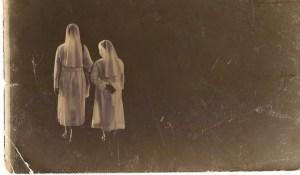 spooky ghostly nuns for Halloween